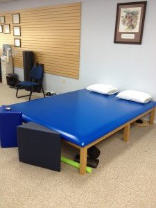 large treatment table